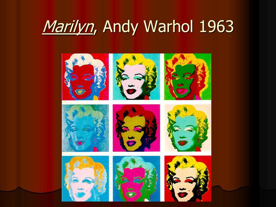 Marilyn, Andy Warhol 1963