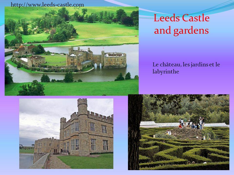Leeds Castle and gardens Le château, les jardins et le labyrinthe http://www.leeds-castle.com