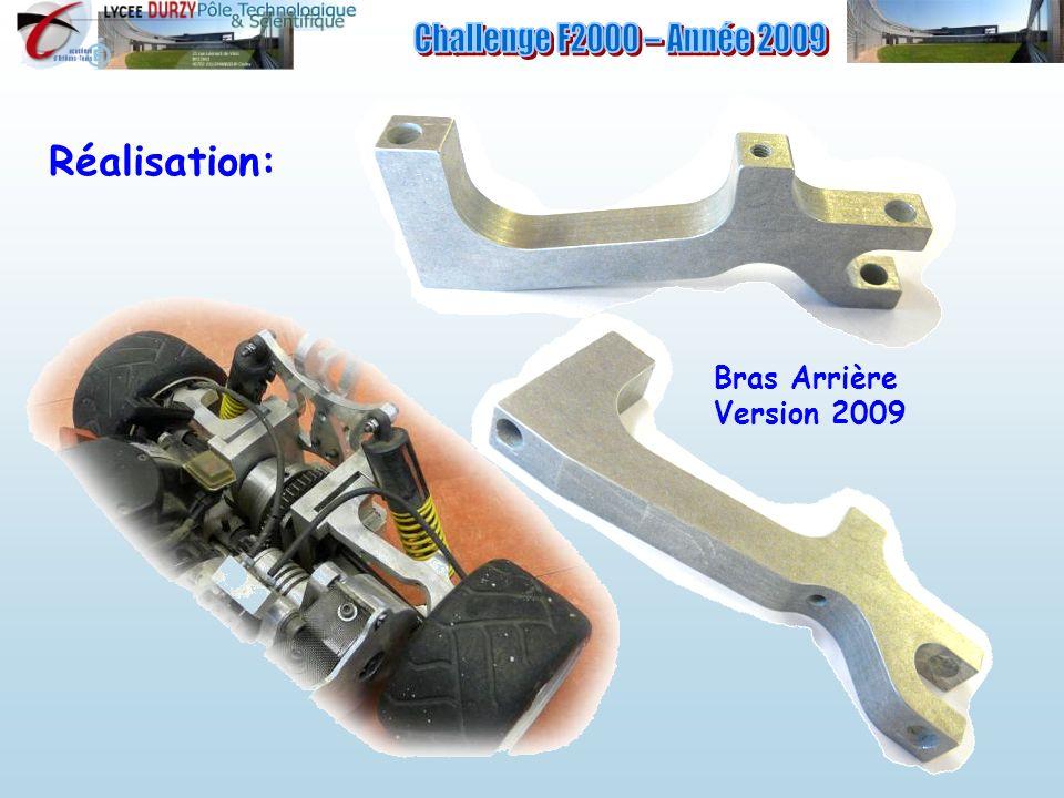 Bras Arrière Version 2009