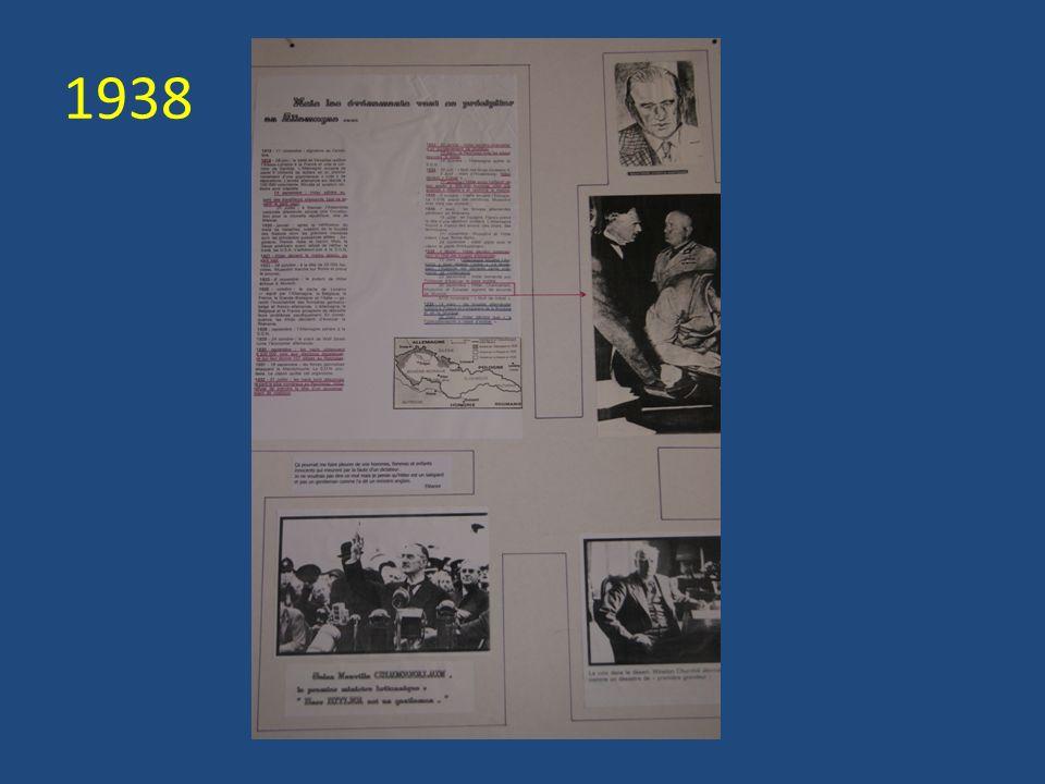 1942 : la résistance (Jean Moulin), lappui des Américains, lespoir,...