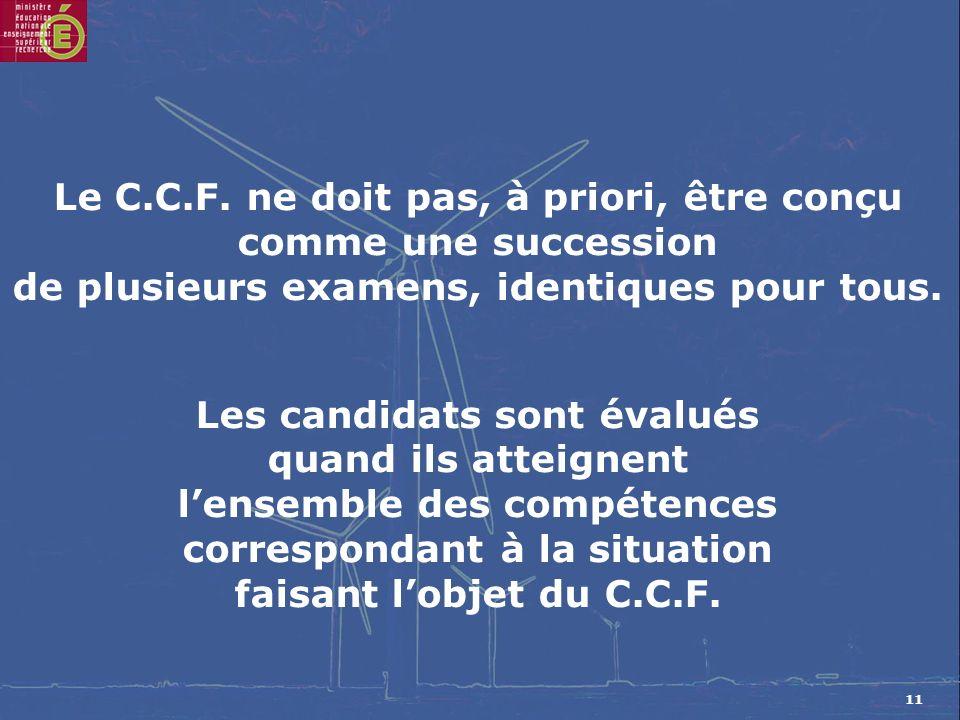 11 Le C.C.F.