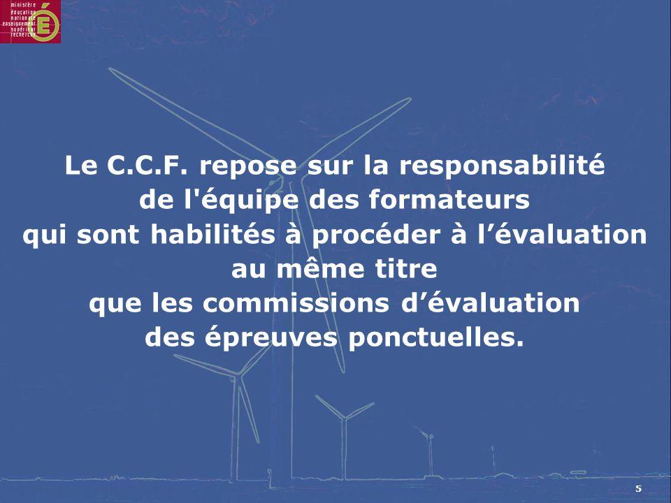 5 Le C.C.F.