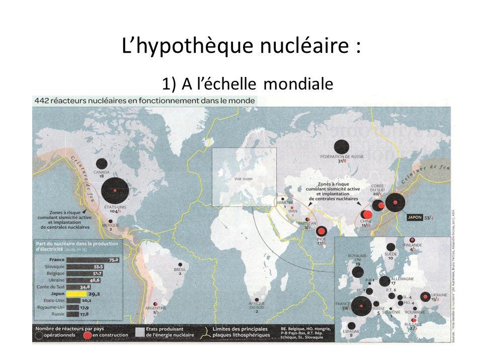 Lhypothèque nucléaire : 1) A léchelle mondiale