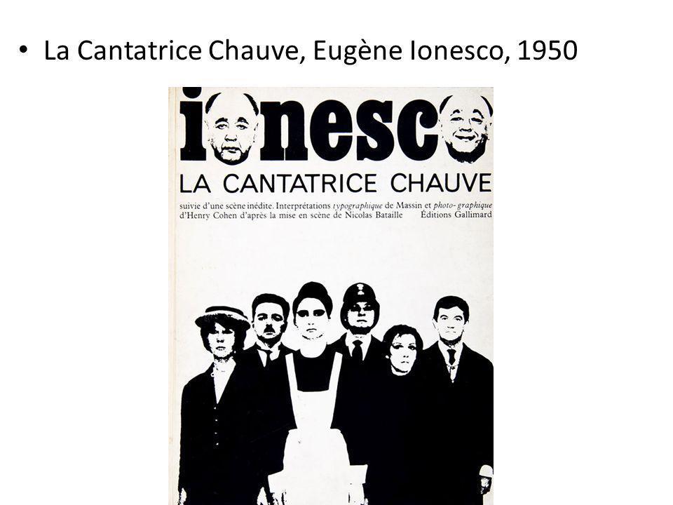 La Cantatrice Chauve, Eugène Ionesco, 1950