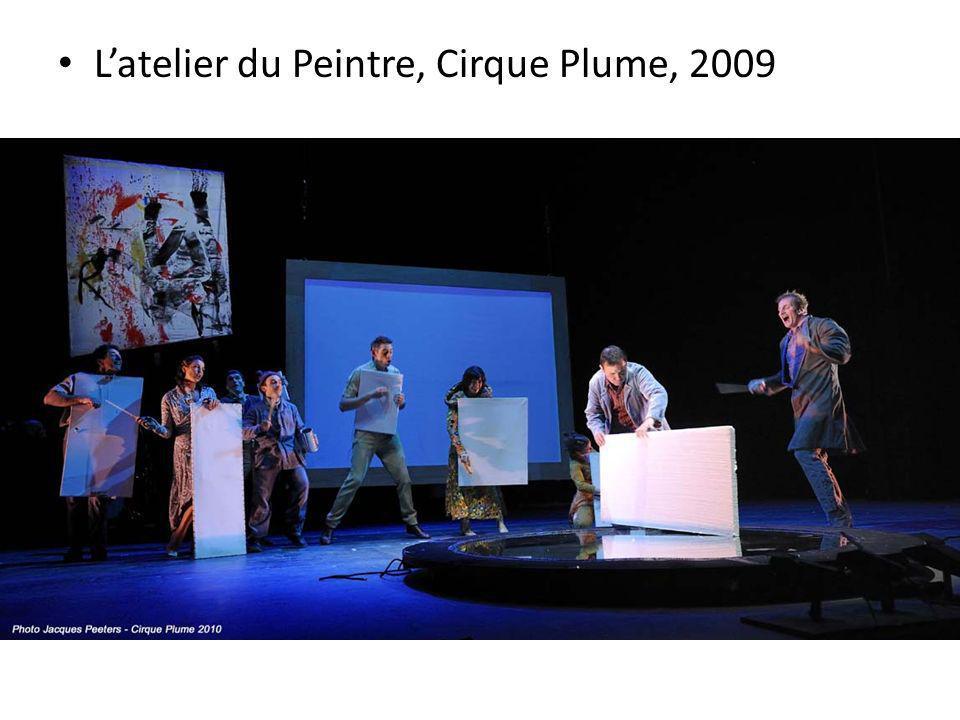 Latelier du Peintre, Cirque Plume, 2009