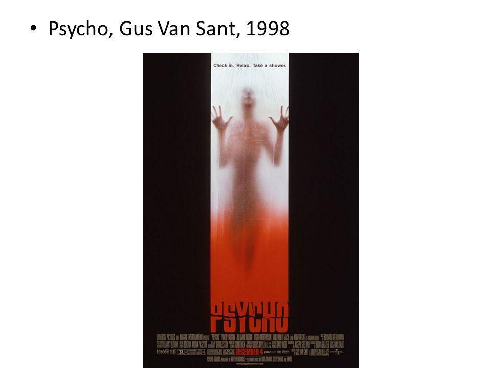 Psycho, Gus Van Sant, 1998