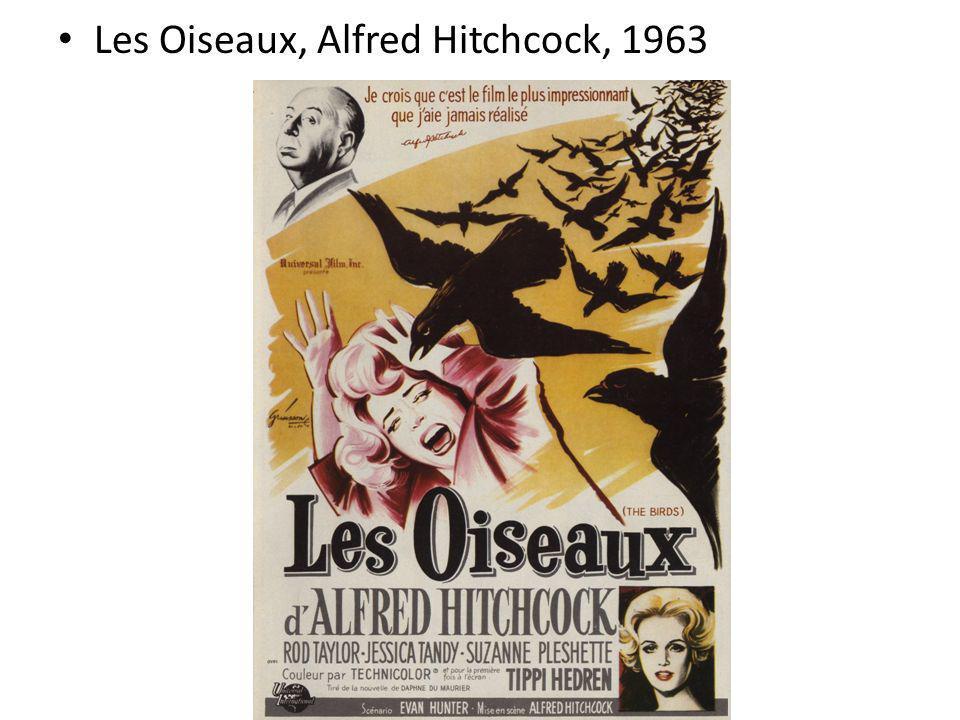 Les Oiseaux, Alfred Hitchcock, 1963