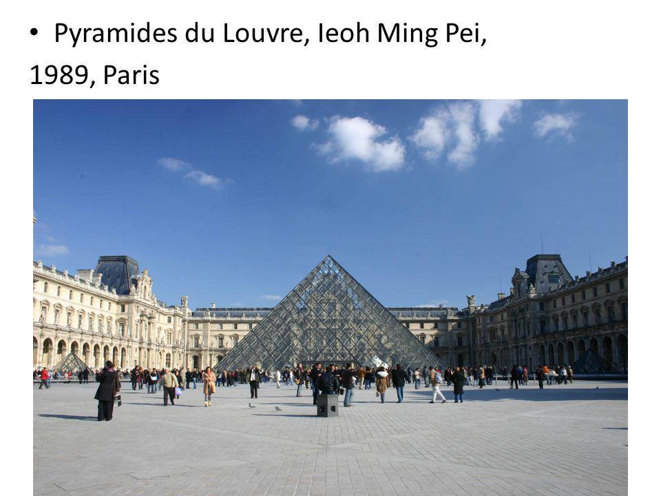 Pyramides du Louvre, Ieoh Ming Pei, 1989, Paris