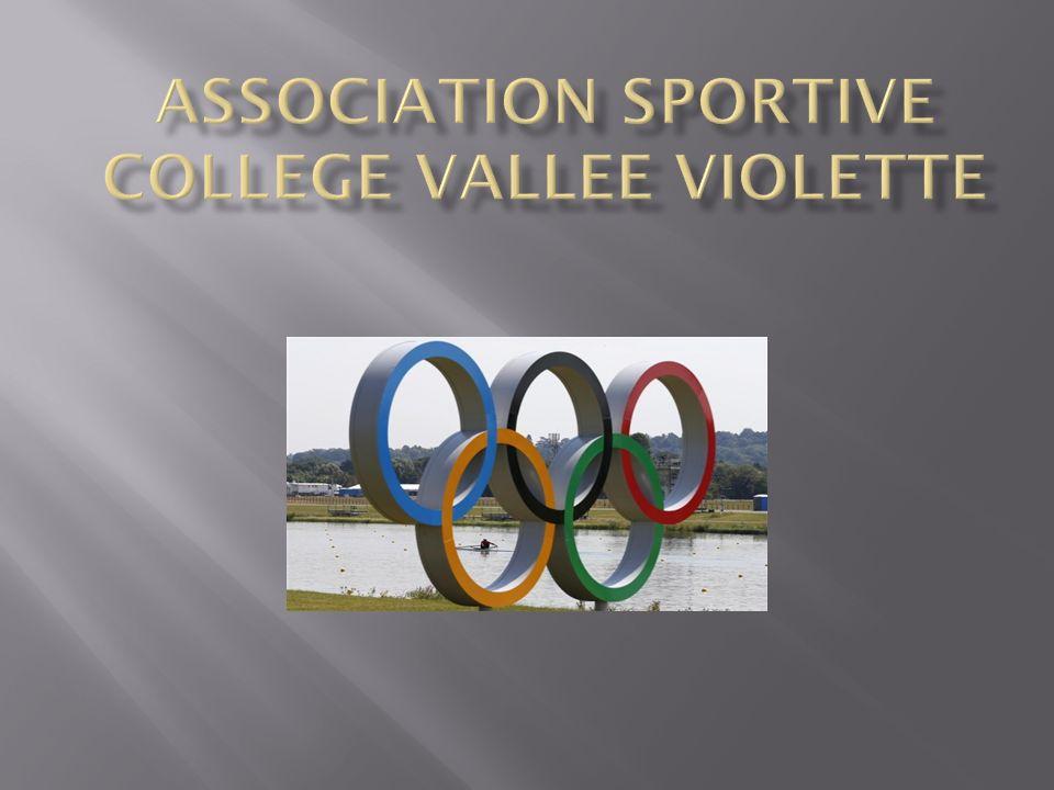 Découverte de nouvelles activités sportives : Sports collectifs : Handball, Futsall Sports individuels : Gymnastique, badminton, natation, équitation, athlétisme (cross) 2011 / 2012 : 77 licenciés (1 élève sur 3)