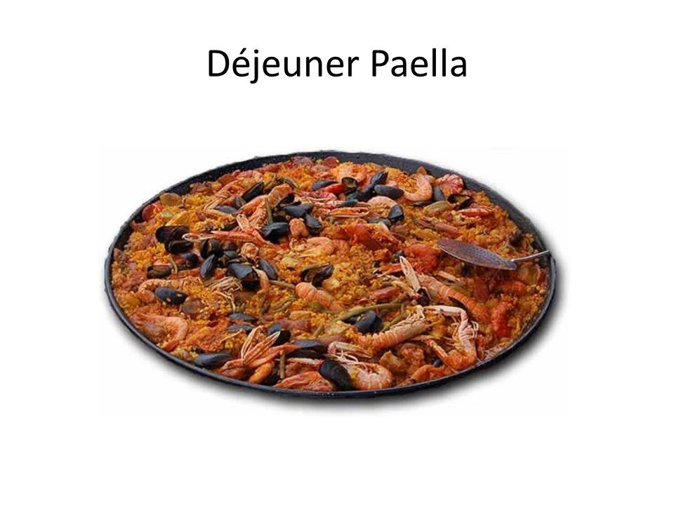 Déjeuner Paella