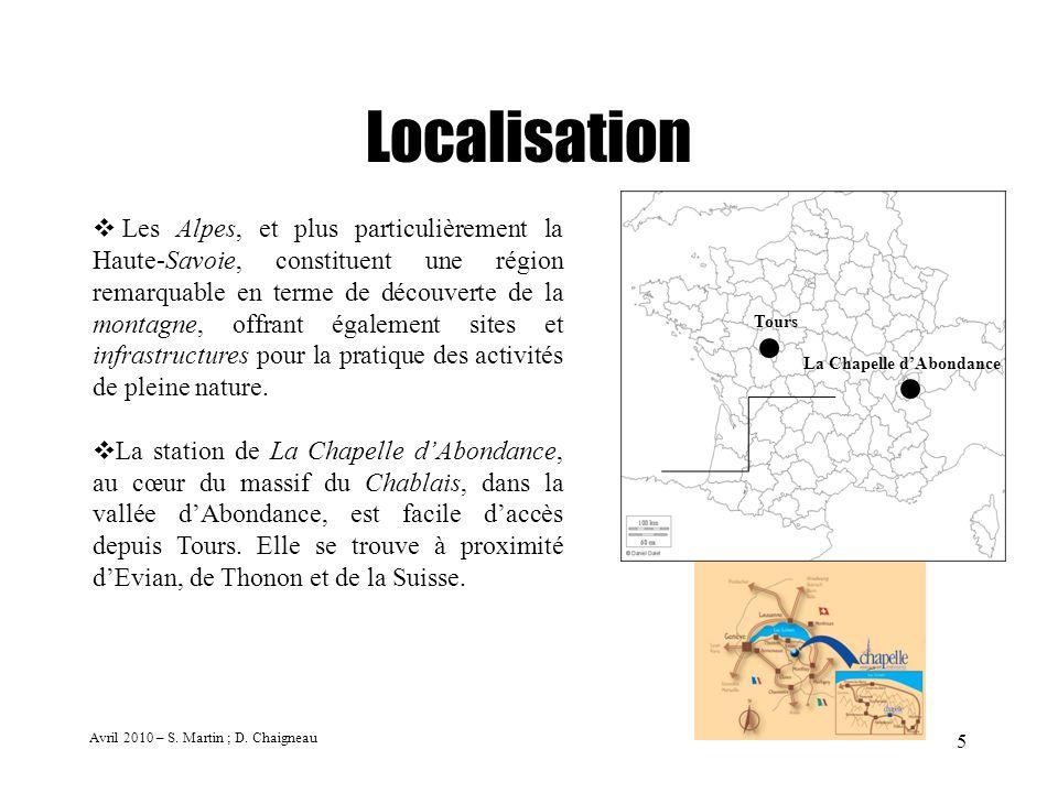 5 Localisation Les Alpes, et plus particulièrement la Haute-Savoie, constituent une région remarquable en terme de découverte de la montagne, offrant
