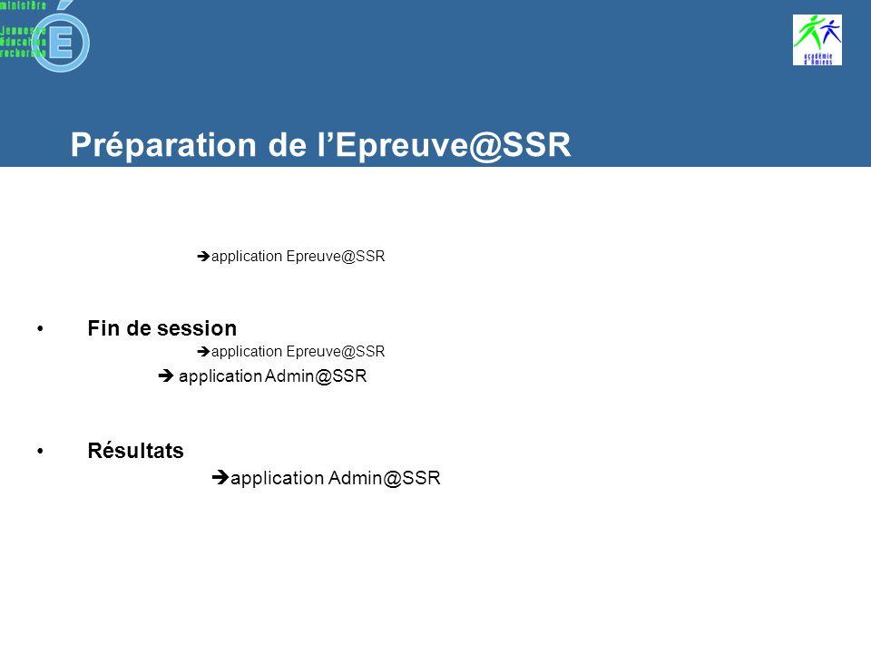Utilisation des applications Admin ASSR Epreuve ASSR