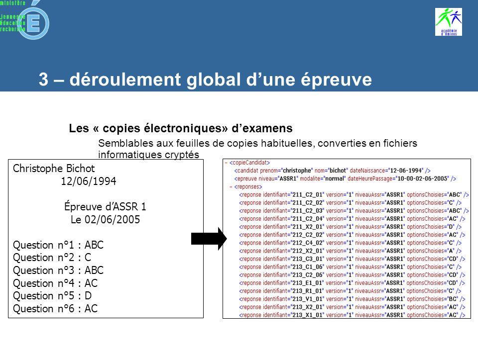 6 - Installation c - Pré-requis et consignes « Epreuve@ASSR