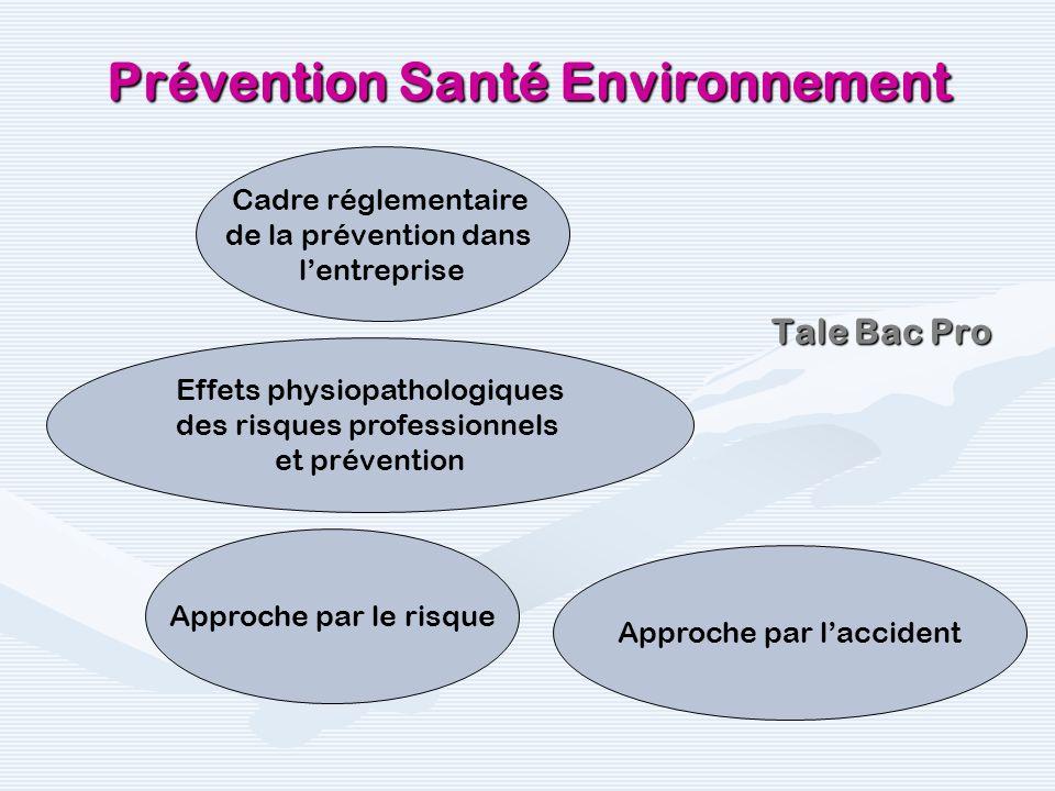1ère Bac Pro Prévention Santé Environnement 8.3 Gérer les situations durgence en cas daccident 8.