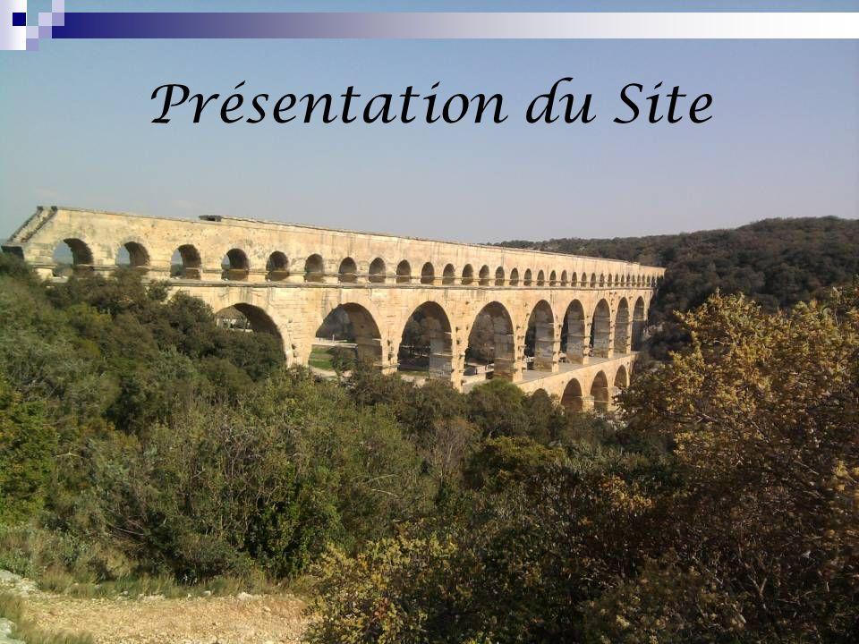 Le Pont du Gard est laqueduc romain le plus haut du monde, construit au Ier siècle de notre ère, il servait, dans lantiquité, à alimenter Nîmes en eau.