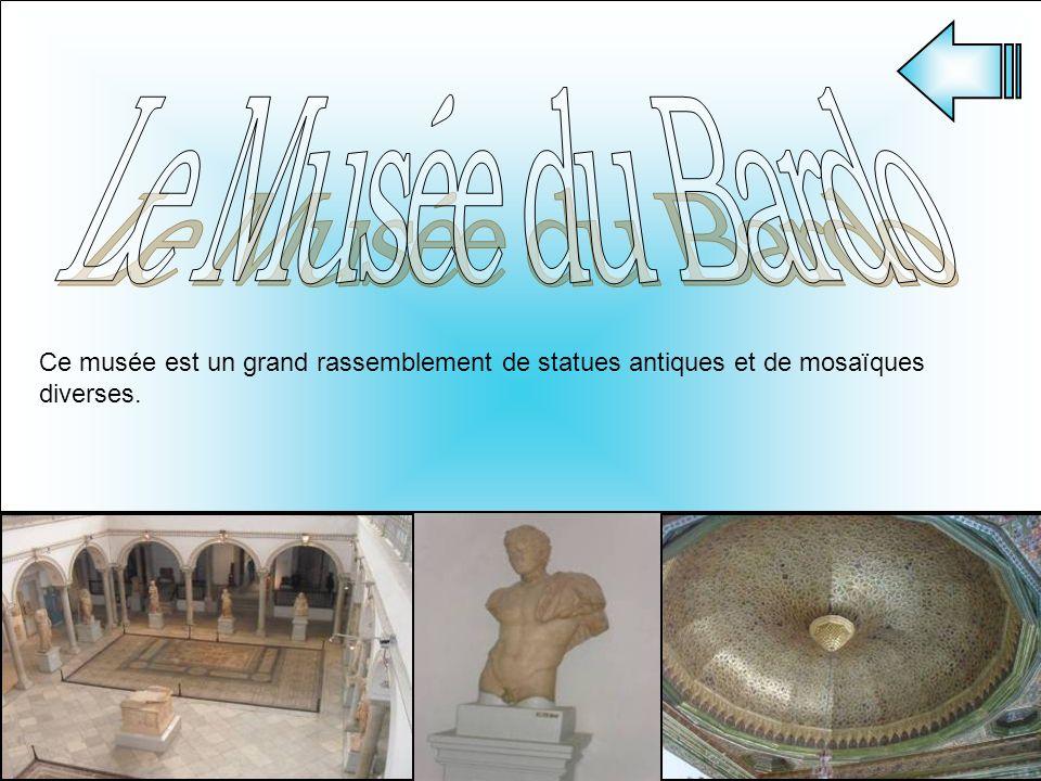 Ce musée est un grand rassemblement de statues antiques et de mosaïques diverses.