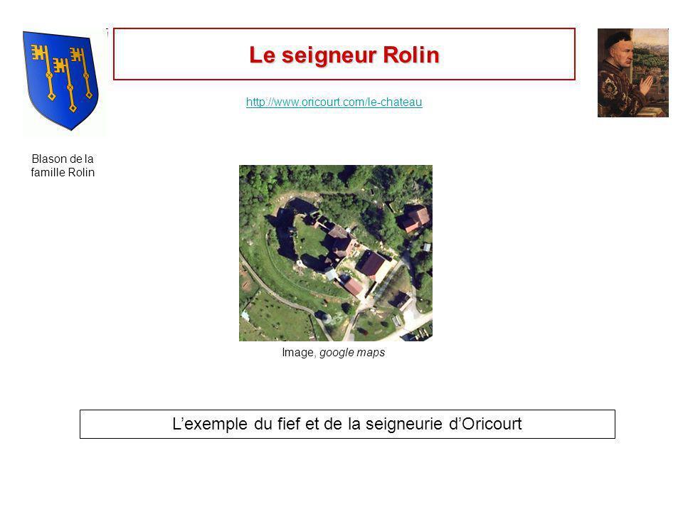 Le fief dOricourt Relis les définitions de « fief » et de « vassal » dans ton manuel ( p.