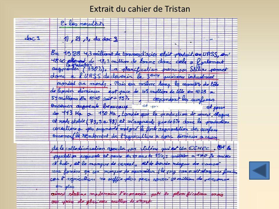 Extrait du cahier de Clémence (2)