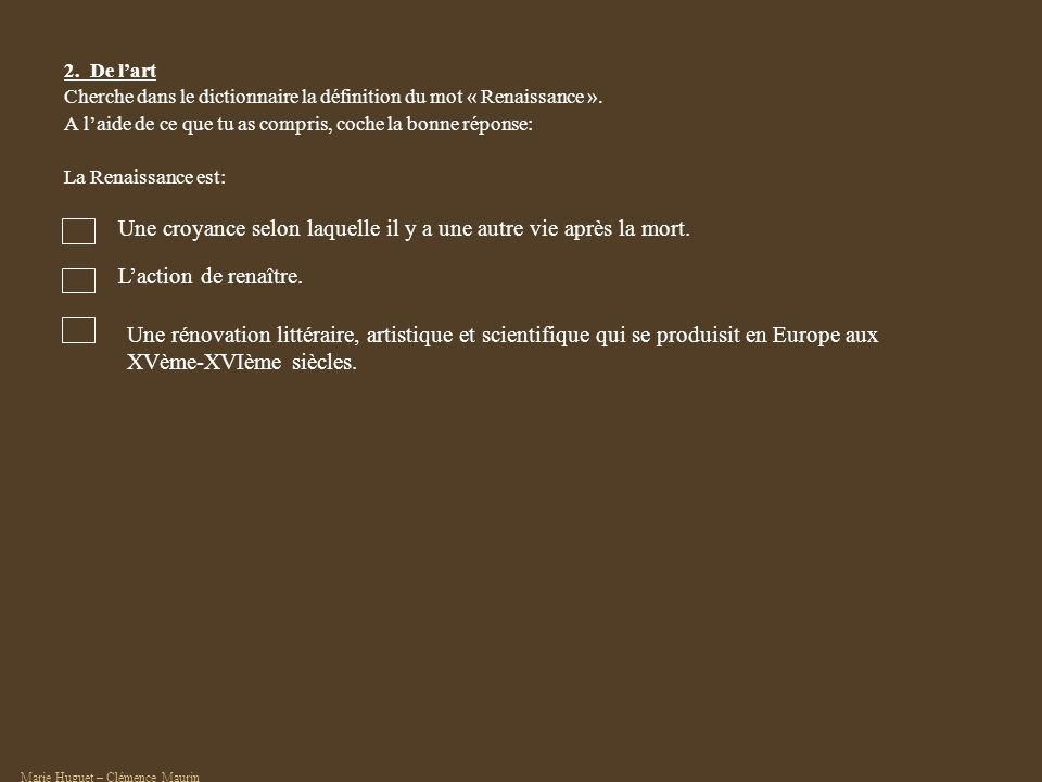 http://www.techno- science.net/?onglet=glossaire&definition=4748 Dautres dessins sur le site web gallery of art : http://www.wga.hu/ « artists », « Leonardo da Vinci », « Drawings of engineering themes » Dessins et notes sur lillumination du Soleil, de la Terre et de la Lune Léonard De Vinci, vers 1506 - 1508 3.