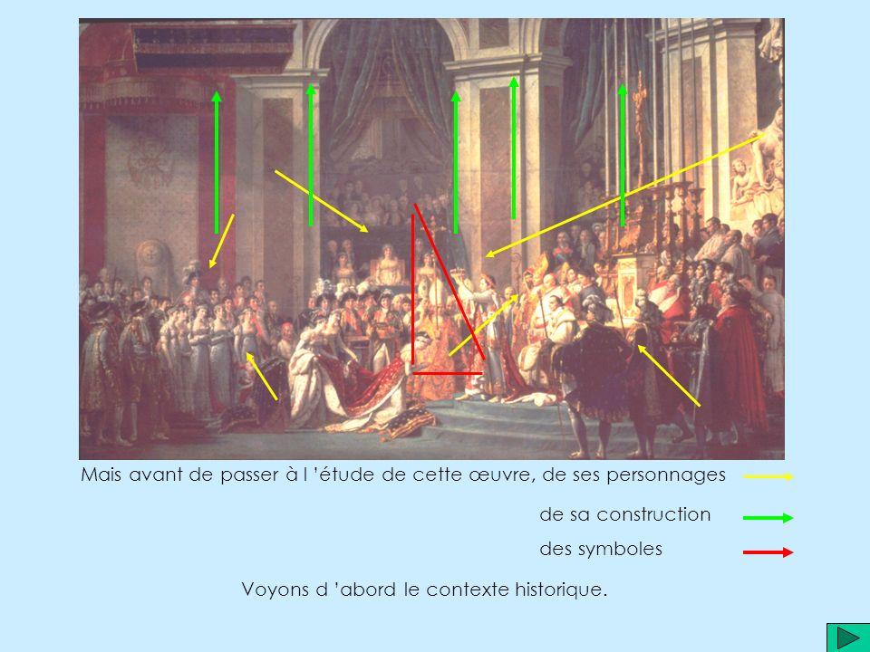 Il est connu pour d autres œuvres que vous pouvez croiser dans le programme d histoire de 4ème telles que « la mort de Marat », Lauteur du tableau est Jacques Louis David.