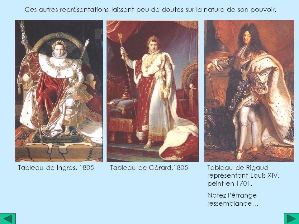 Toutefois, le tableau reste composé autour de son seul acteur ; tous les regards se tournent vers lui, vers la couronne quil va poser sur son épouse.