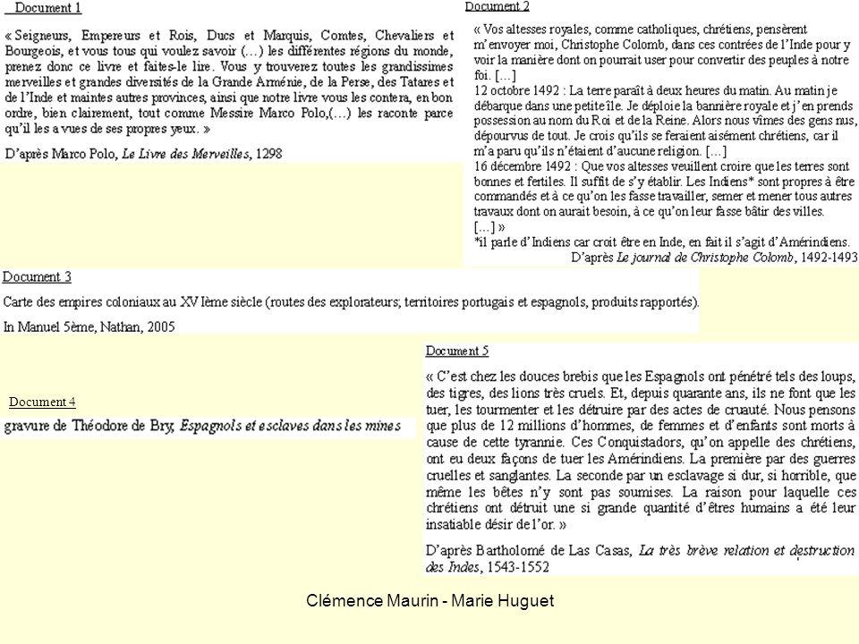Clémence Maurin - Marie Huguet Document 4
