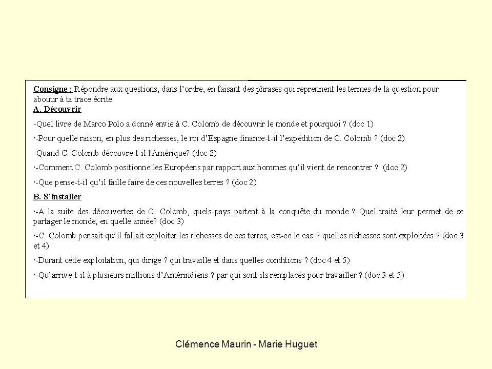 Clémence Maurin - Marie Huguet