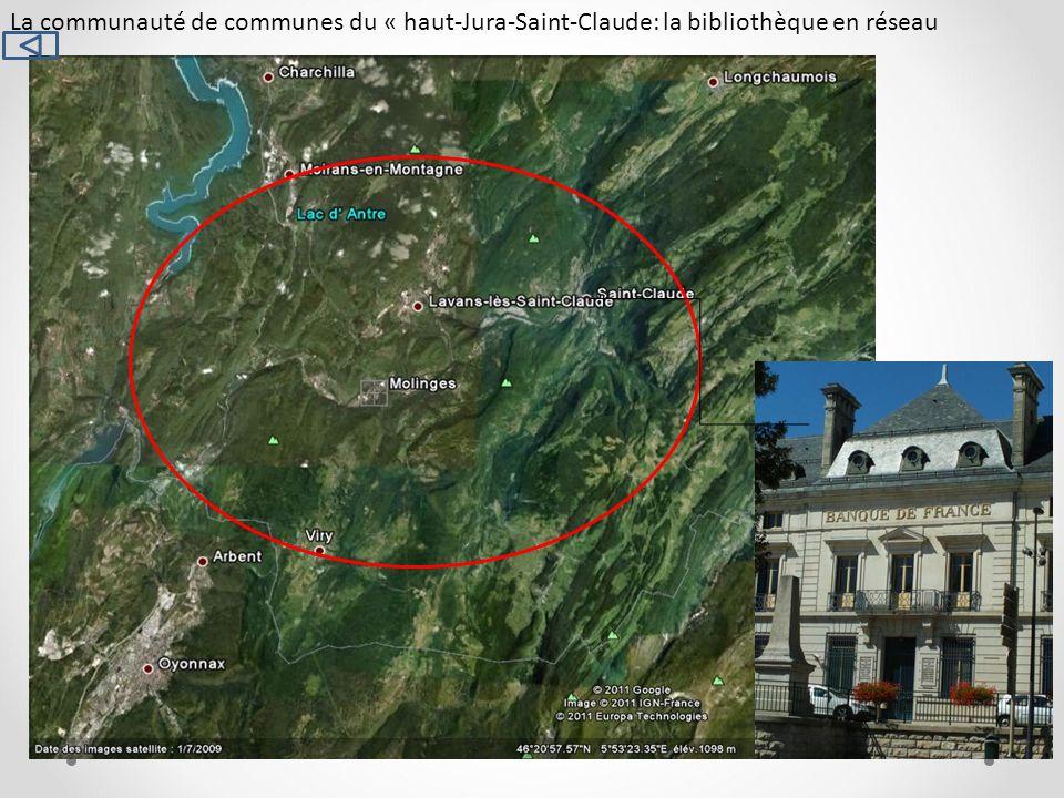 La communauté de communes du « haut-Jura-Saint-Claude: la bibliothèque en réseau