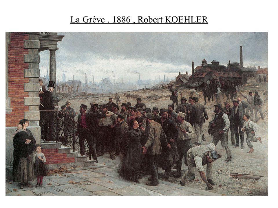 La Grève, 1886, Robert KOEHLER