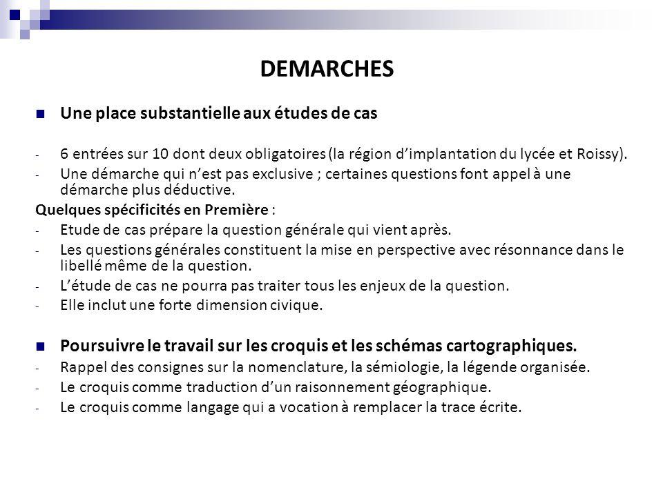 Thème 1 (entrée obligatoire) Comprendre les territoires de proximité (11-12 heures) Thème 2 : Aménager et développer le territoire français (24-26 heures) Thème 3 Lunion Européenne : dynamique de développement des territoires (11-12 heures) Thème 4 : France et Europe dans le monde (11-12 heures).