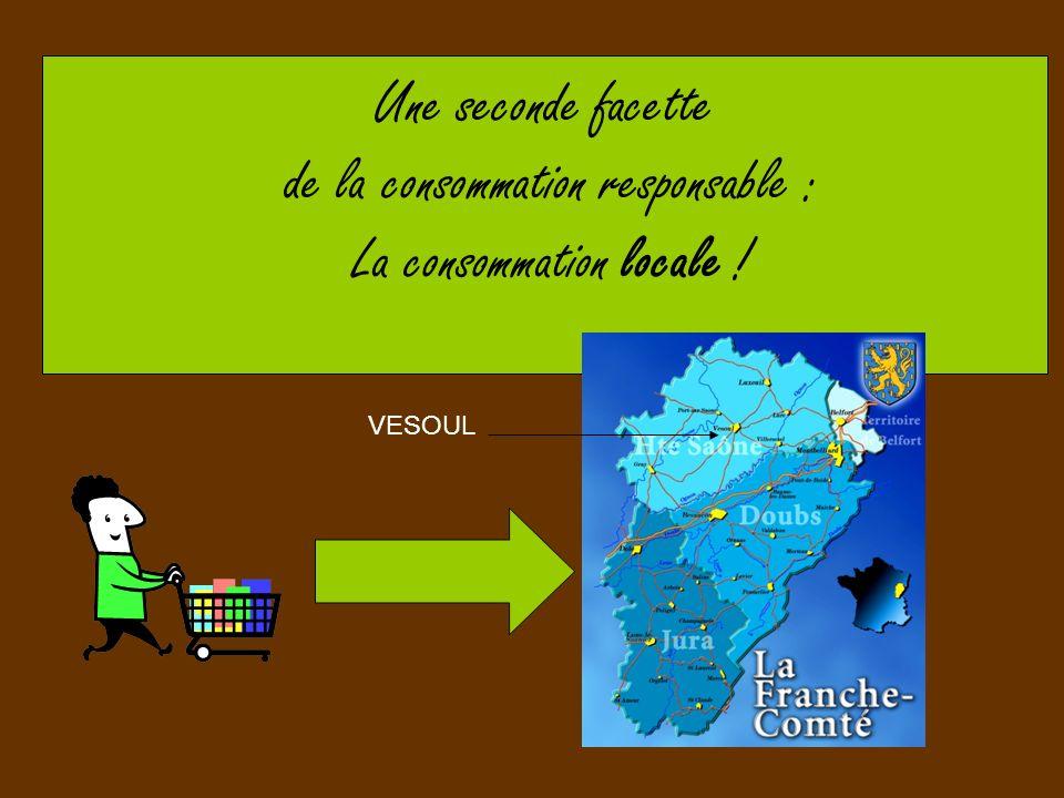 Une seconde facette de la consommation responsable : La consommation locale ! VESOUL