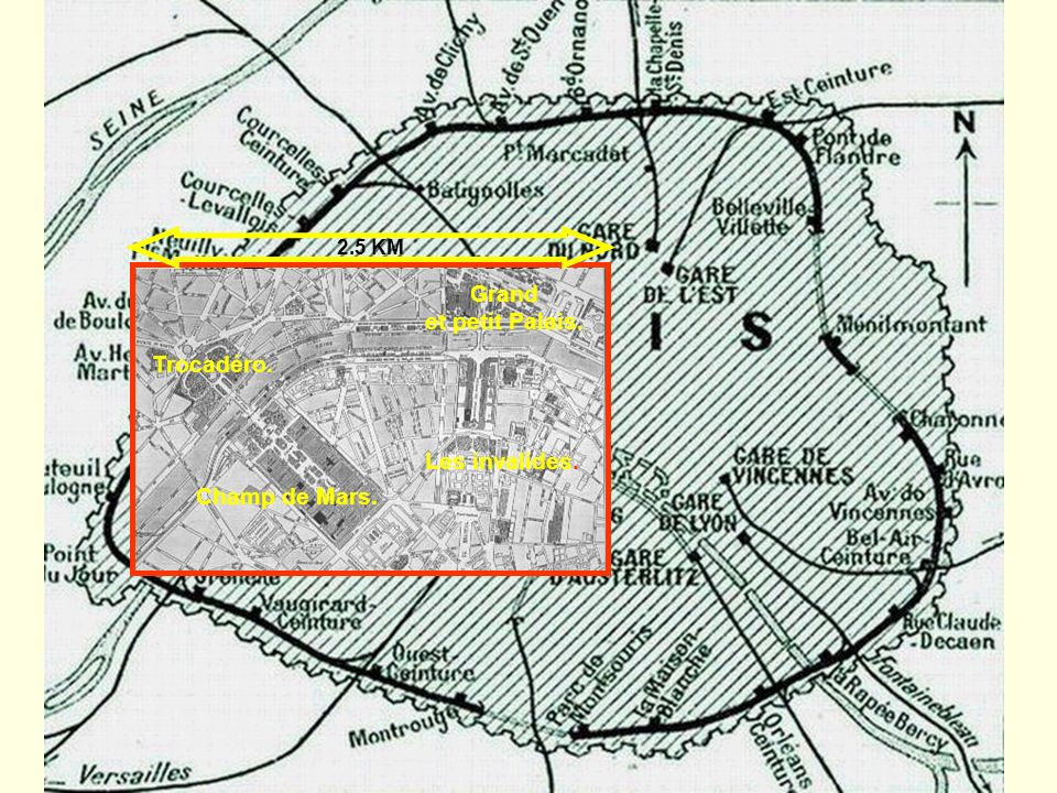 L Exposition sétale sur rive droite et rive gauche Sur l Esplanade des Invalides Sur les quais Au Grand et Petit Palais Au Trocadéro.