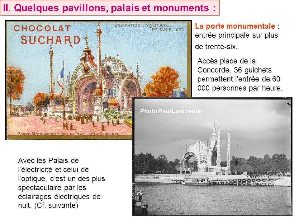 la France, face à l impressionnant Royaume-Uni, étale, sur les collines du Trocadéro, les richesses de son empire colonial.