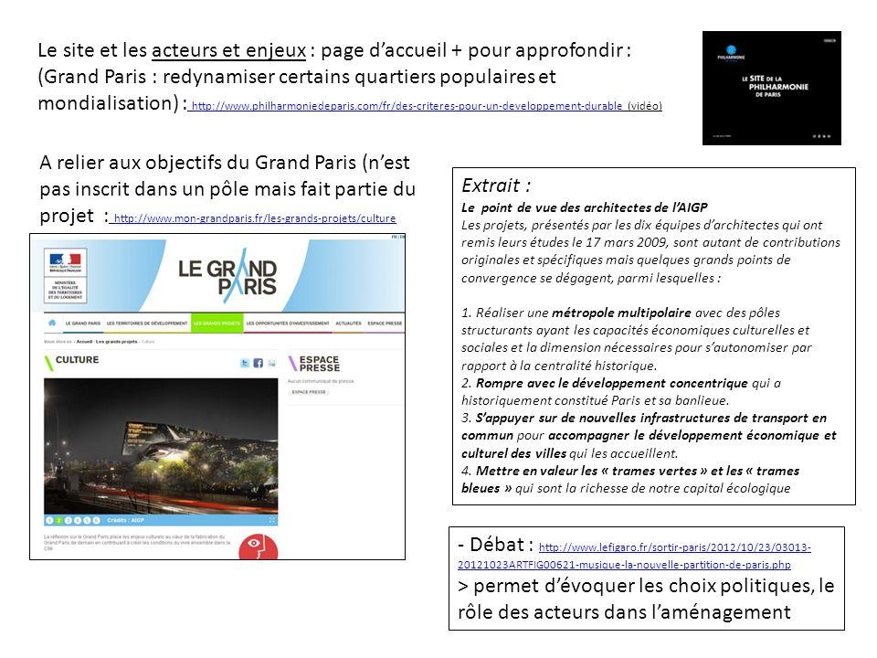 - Débat : http://www.lefigaro.fr/sortir-paris/2012/10/23/03013- 20121023ARTFIG00621-musique-la-nouvelle-partition-de-paris.php http://www.lefigaro.fr/