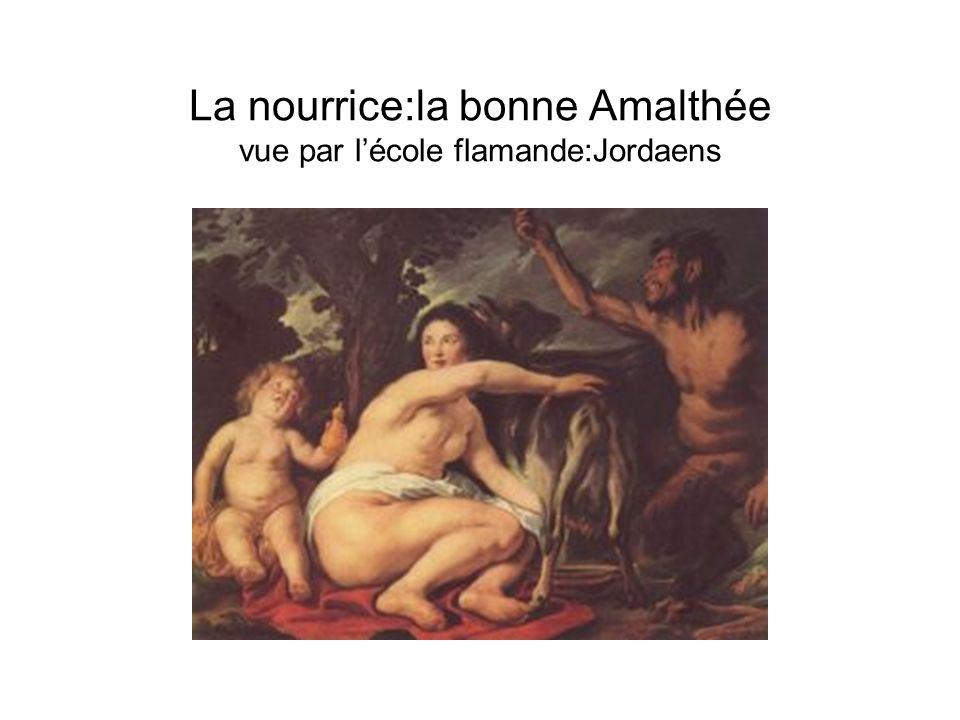 La nourrice:la bonne Amalthée vue par lécole flamande:Jordaens