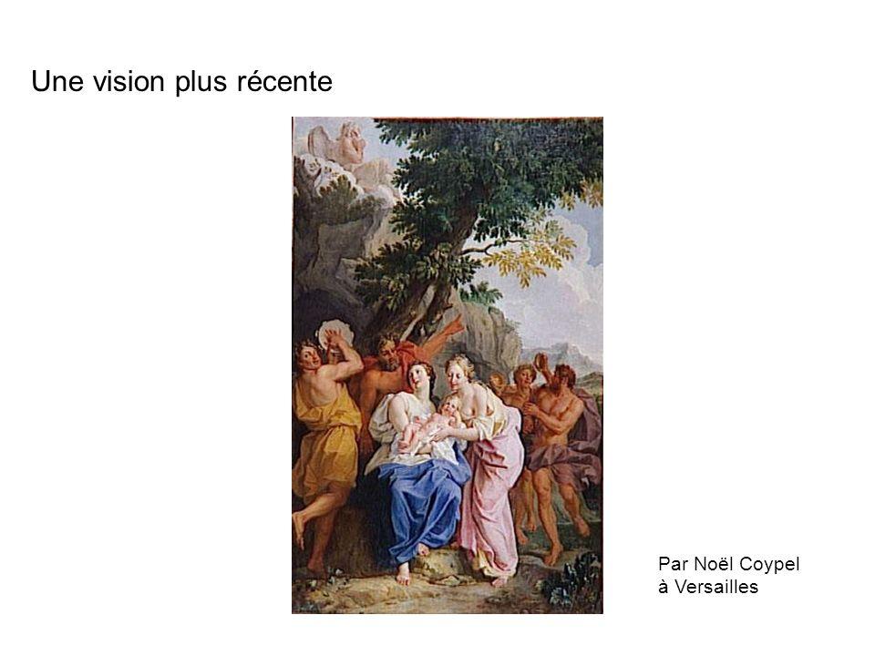 Par Noël Coypel à Versailles Une vision plus récente