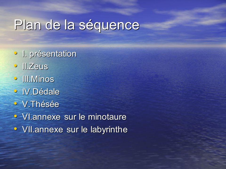 Plan de la séquence I.présentation I.
