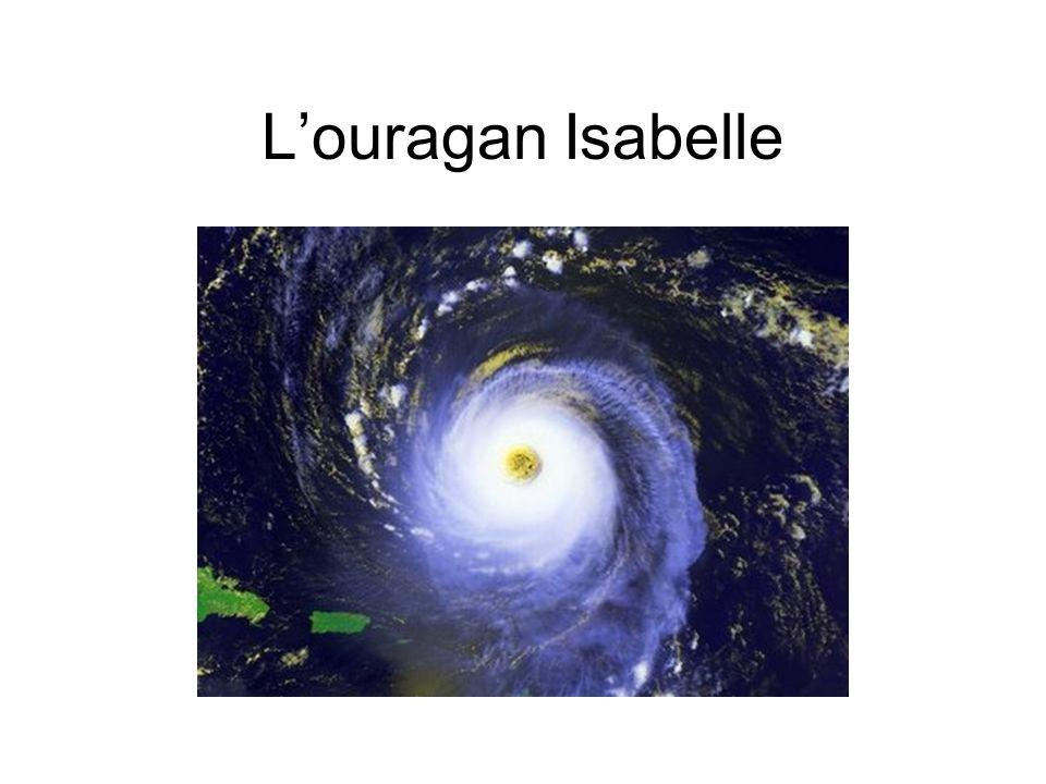 Louragan Isabelle