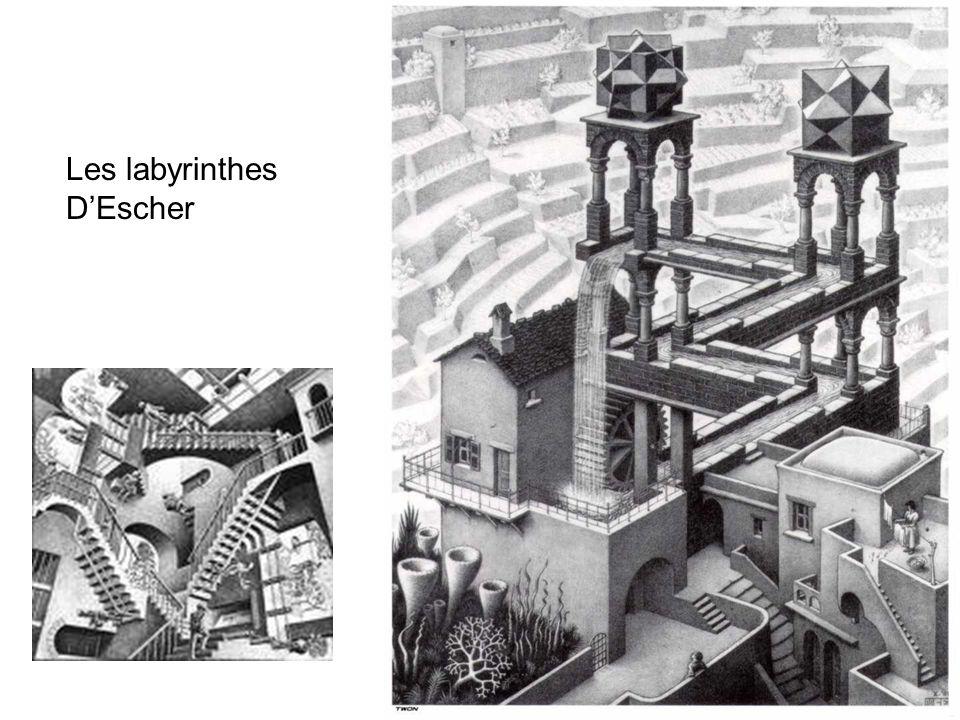 Les labyrinthes DEscher