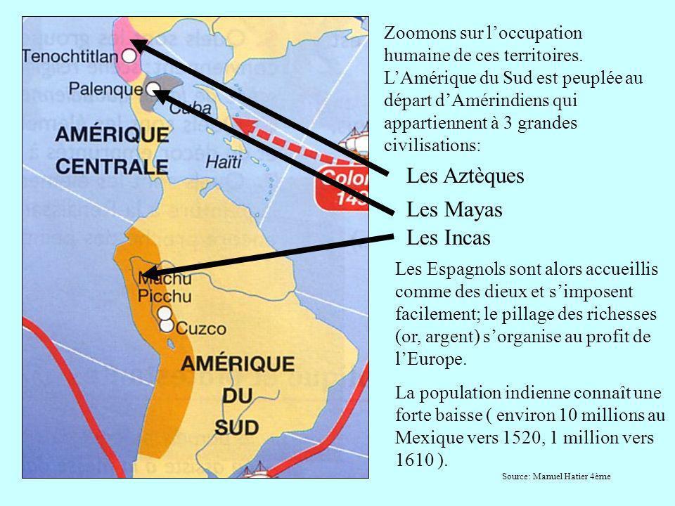Quant à lAmérique du Nord, sa conquête est plus tardive: Les Français sinstallent au Nord vers 1604.