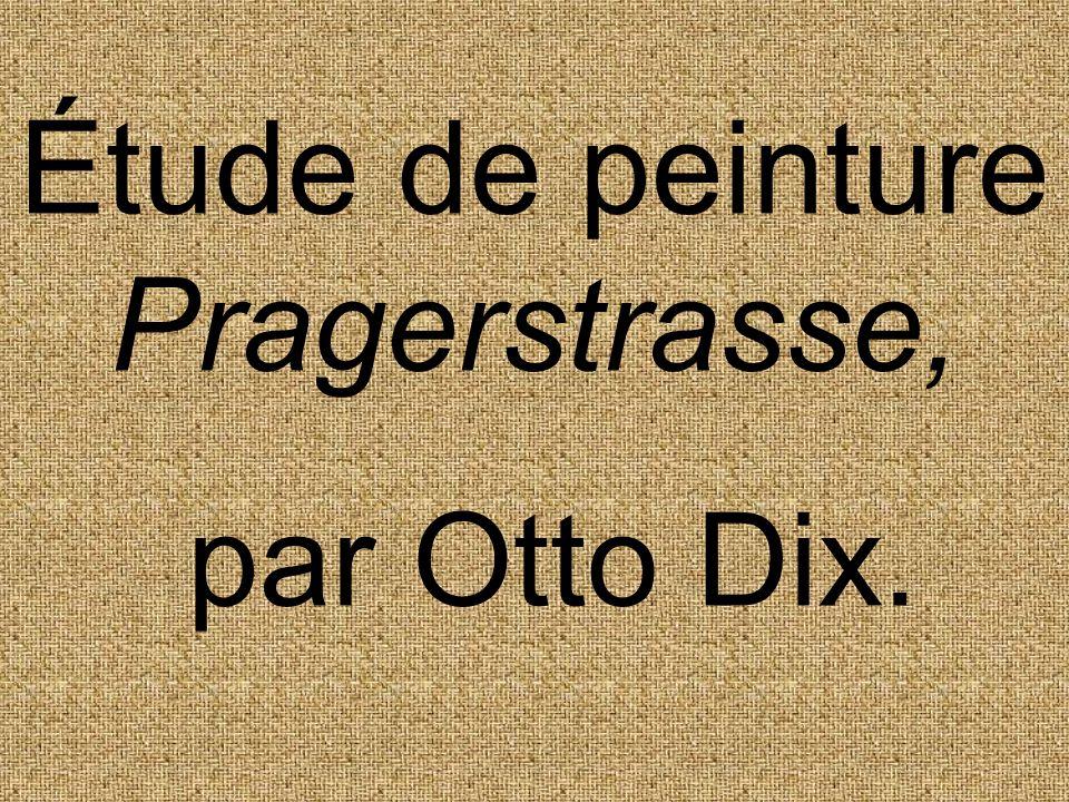 Petite biographie : Otto Dix (né près de Gera en 1891, mort près de Constance, à Singen, en 1961).