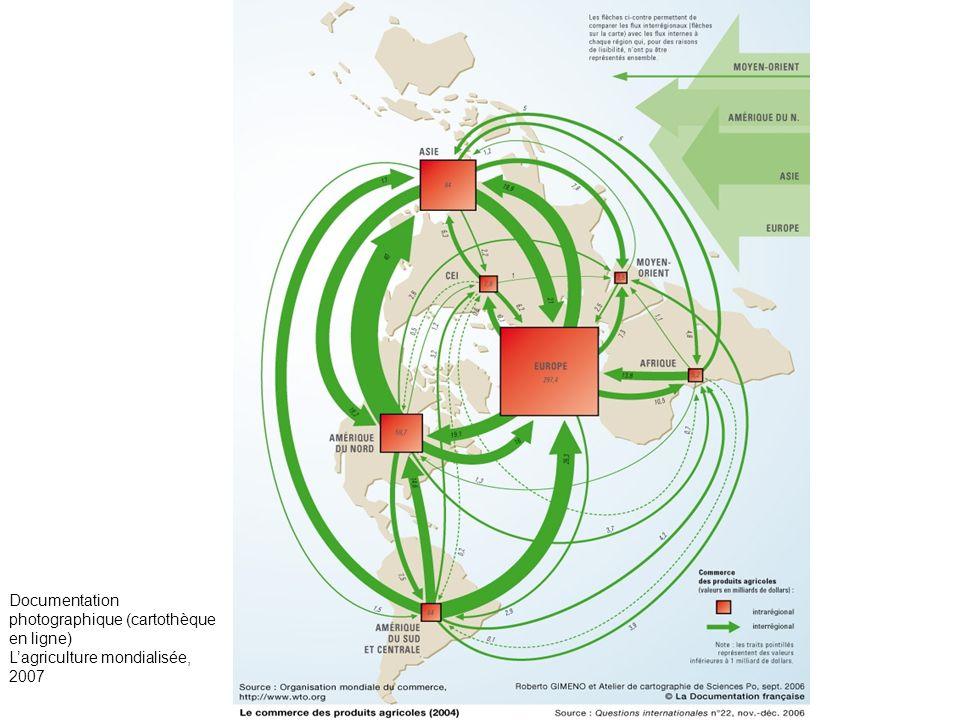 Documentation photographique (cartothèque en ligne) Lagriculture mondialisée, 2007