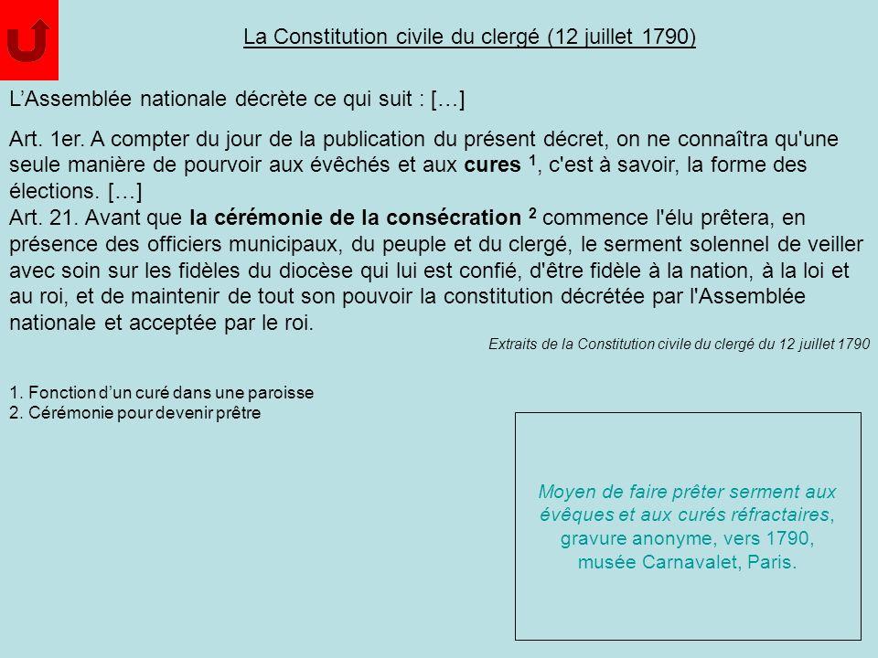 LAssemblée nationale décrète ce qui suit : […] Art. 1er. A compter du jour de la publication du présent décret, on ne connaîtra qu'une seule manière d