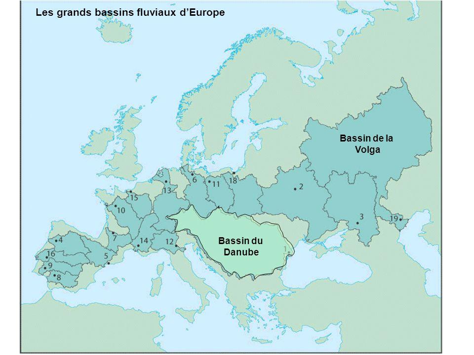 Bassin du Danube Bassin de la Volga Les grands bassins fluviaux dEurope