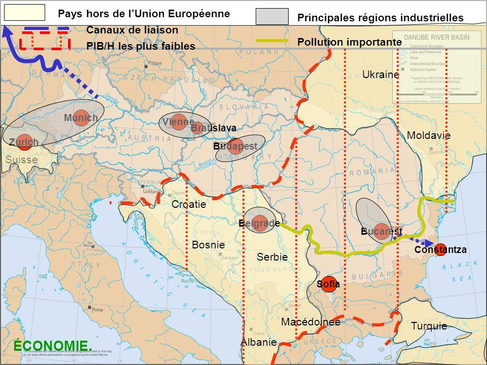 Quels contrastes et quelle diversité dans le bassin du Danube.