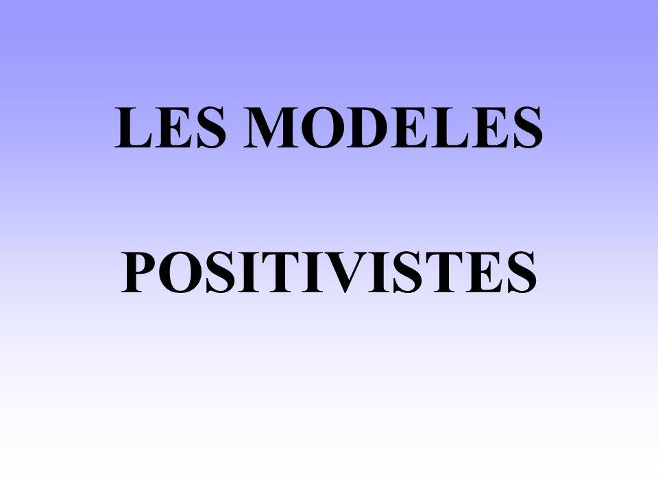 Lenjeu des modèles positivistes est lanalyse des effets de la communication et de son efficacité