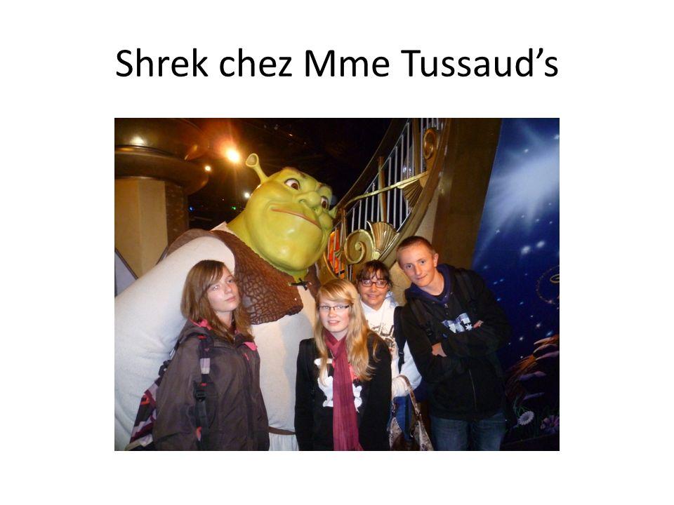 Shrek chez Mme Tussauds