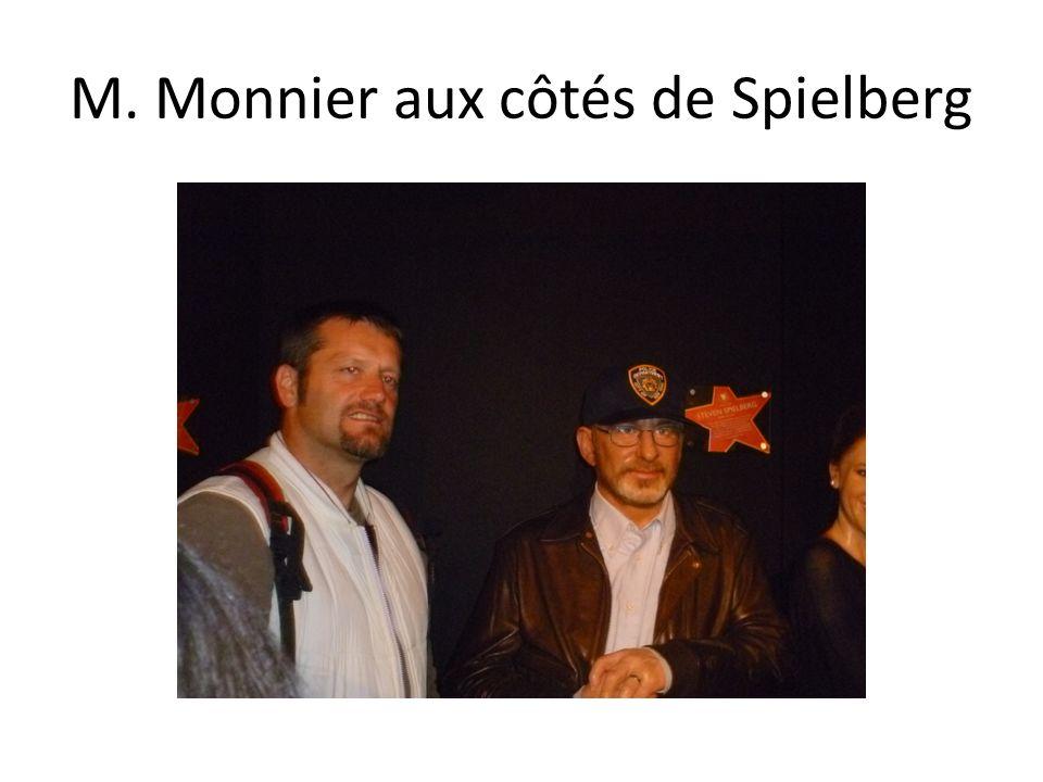 M. Monnier aux côtés de Spielberg
