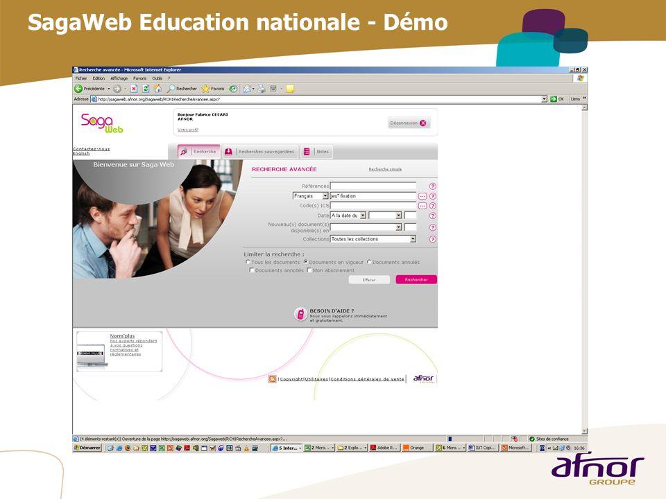 1 / Pour personnaliser les références : Affichage / En-tête et pied de page Personnaliser la zone Pied de page, Faire appliquer partout SagaWeb Educat