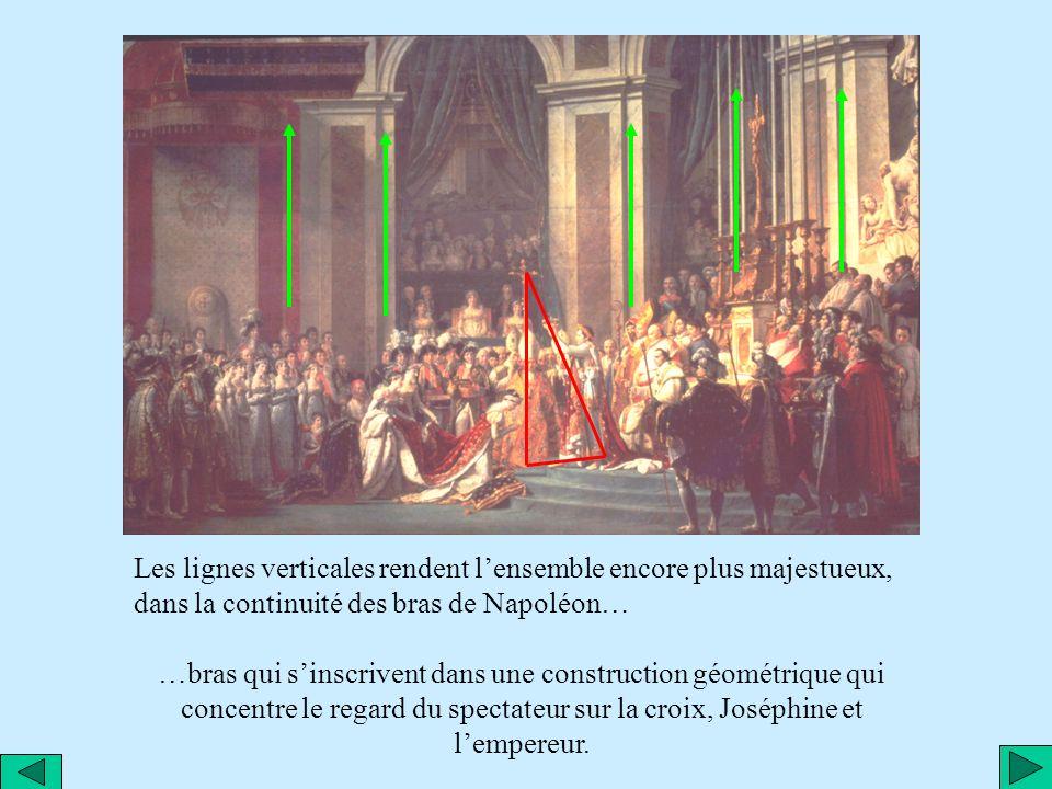 Passons à l étude même de la peinture. 9,80 mètres de long Et 6,20 mètres de large. C est le second plus grand tableau du Louvre ( après « les noces d
